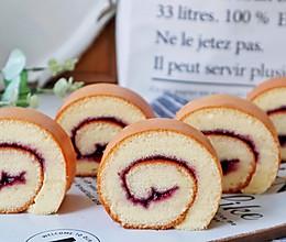 #我要上首焦#一次成功的蓝莓蛋糕卷的做法