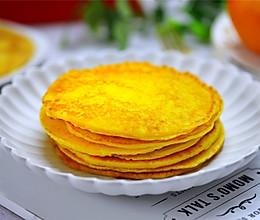 香橙煎饼的做法