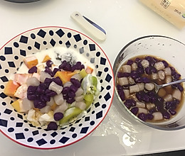 水果……芋圆的做法