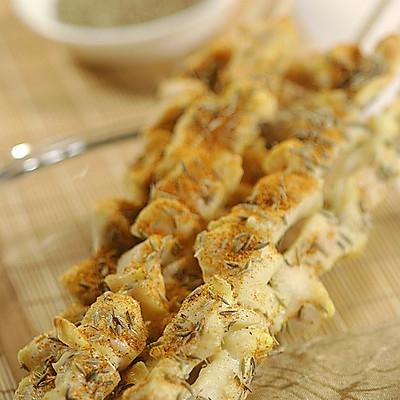 新疆烤鸡肉串