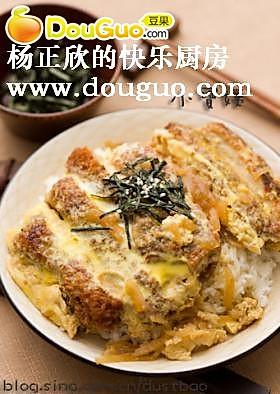 日式猪排盖饭的做法