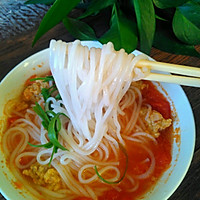 圆子番茄米线的做法图解8