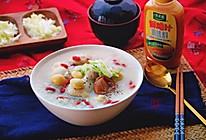 日式鸡肉汤饭锅#太太乐鲜鸡汁蒸鸡原汤#的做法