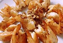 快手版:蒜香椒盐虾的做法