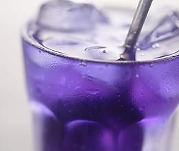 蝶豆花渐变饮料的做法