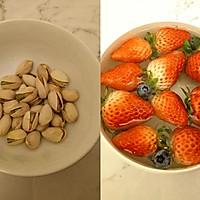 #新年开运菜,好事自然来#水果酸奶薄脆的做法图解1