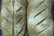 抹茶软欧面包的做法
