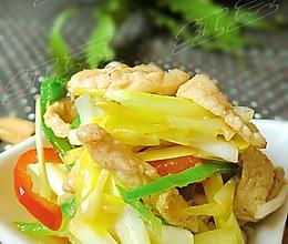 美味下饭菜---韭黄炒鸡丝的做法
