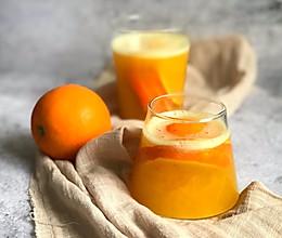 #带着美食去踏青#满杯橙汁热饮版的做法