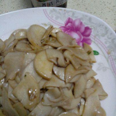 菁选酱油试用之炒蘑菇的做法 步骤7