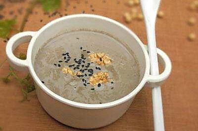 芝麻核桃豆浆
