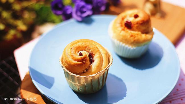 蔓越莓椰蓉小面包的做法