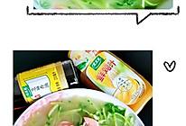 #太太乐鲜鸡汁芝麻香油#上汤豌豆苗的做法