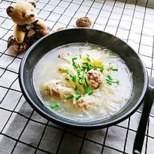 萝卜丝肉丸汤~加个提鲜小妙招!