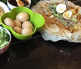 水蒸洛馍卷菜的做法