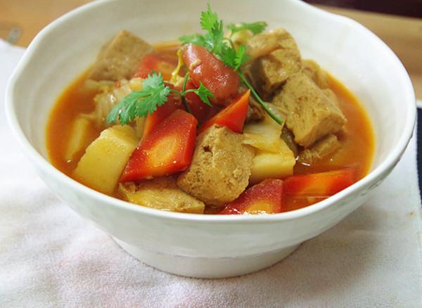 浓香炖冻豆腐的做法