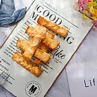 #带着零食去旅行!#香烤杏仁片土司条的做法图解8