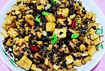 香辣酸菜炒笋和豆腐的做法