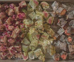 雪花酥-抹茶无花果的做法
