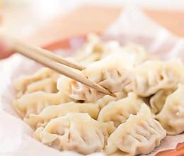 虾仁豆腐饺子的做法