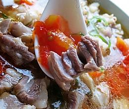 羊肉西红柿汤的做法
