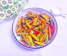 超下饭的黑椒土豆条的做法