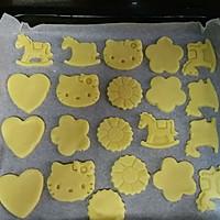 黄油卡通曲奇饼干的做法图解7