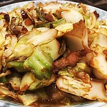 不输外面味道的干锅手撕包菜
