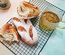 面包与茶:蜂蜜桂花茶软欧的做法