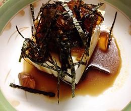日式凉豆腐的做法
