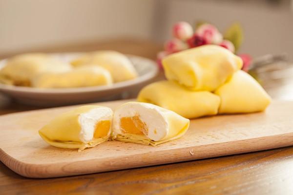 家有平底锅 就能做的美味甜品—芒果班戟的做法