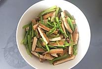 芹菜香干的做法