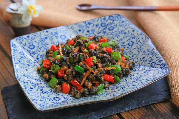 下饭菜·香辣螺蛳肉·的做法