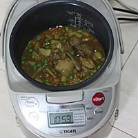 杂蔬菜咖喱鸡焖饭的做法图解8