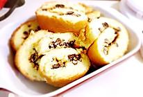 蜜豆蛋糕卷卷的做法