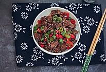 芝麻牛肉粒#秋天怎么吃#的做法