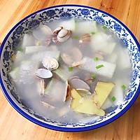 冬瓜花蛤汤的做法图解6
