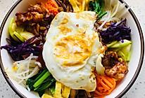 秘制酱料的韩国拌饭的做法
