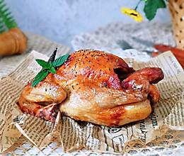 #肉食者联盟#蜜汁烤鸡的做法