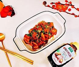 #百变鲜锋料理#鲍汁蚝油肉排的做法