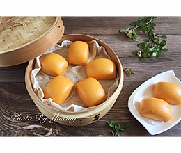 胡萝卜奶香小馒头//宝宝的健康辅食的做法