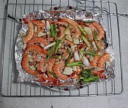 #美食新势力# 烤箱版盐焗虾的做法
