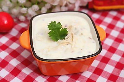 牛奶雞肉蘑菇湯