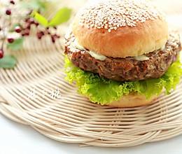 汉堡肉排(空气炸锅版)的做法