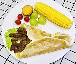 就是喜欢吃肉肉:牛肉手抓饼的做法