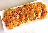 减脂食谱-杂蔬鸡胸肉煎饼的做法