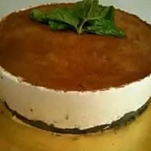 奥利奥栗子慕斯蛋糕(免烤)