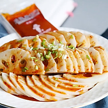 香辣藕片#丘比沙拉汁#
