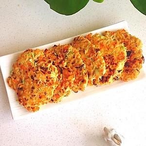 减脂食谱-杂蔬鸡胸肉煎饼【图片】