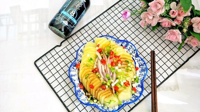 #巨下饭的家常菜#快手凉拌蒸土豆的做法